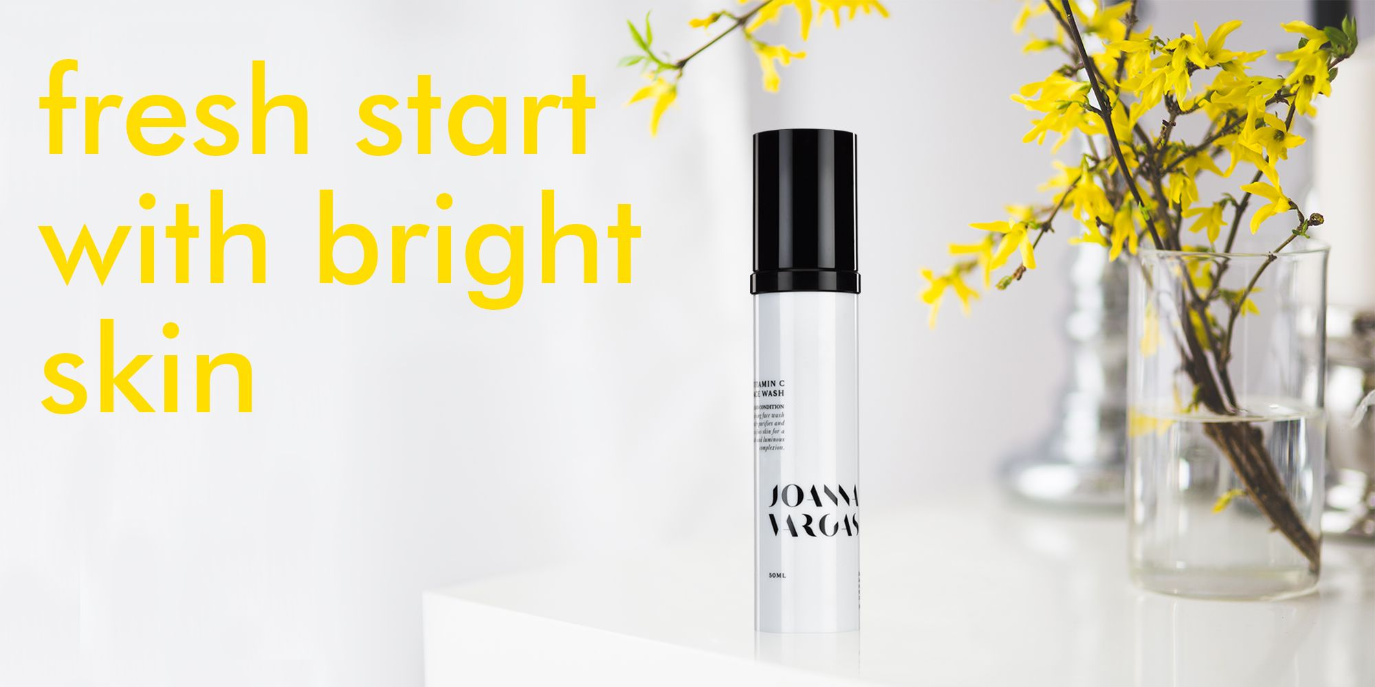 Brighten up your morning with the fresh scent of citrus and fresh skin with our Vitamin C Face Wash. You will feel awake, refreshed and ready to take on the day! http://amzn.to/2k43Bfj #mondays #joannavargas #skincare #beautytip