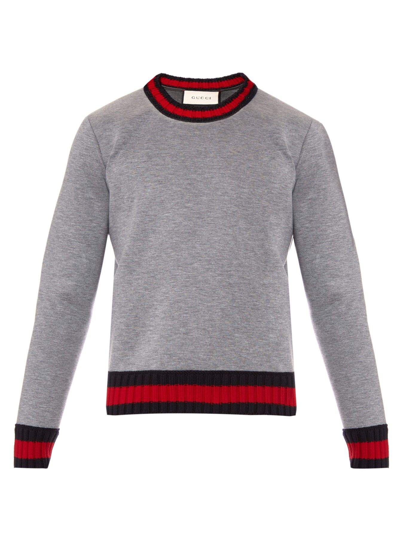 91be197be4b Crew-neck neoprene sweatshirt