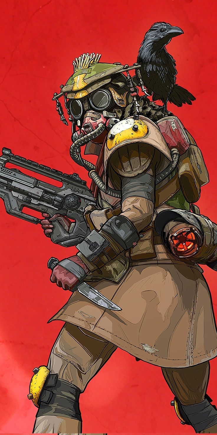 Apex Legends Bloodhound Wallpaper Character design