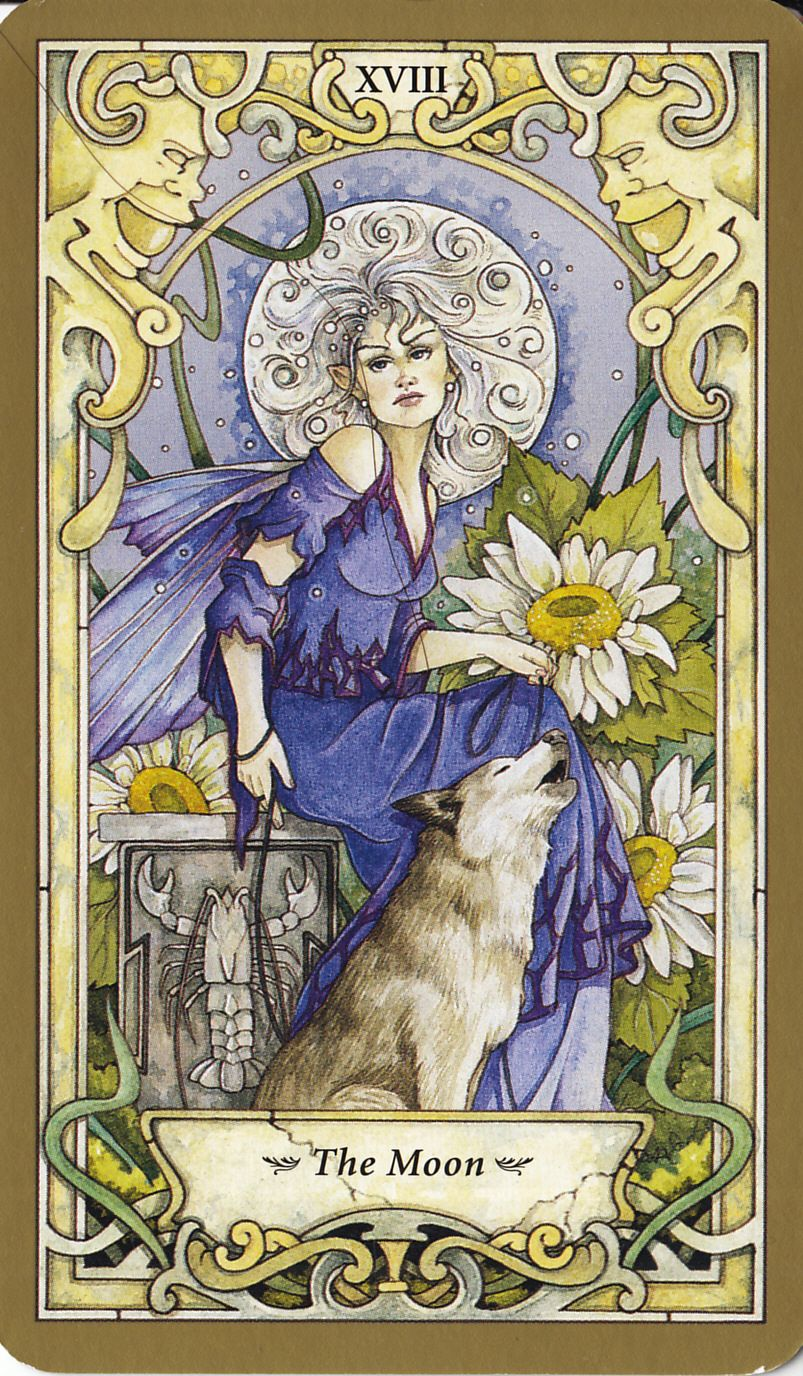 Mystic Faerie Tarot The World: Mystic Faerie, 2007 I Just Received This Deck The Other