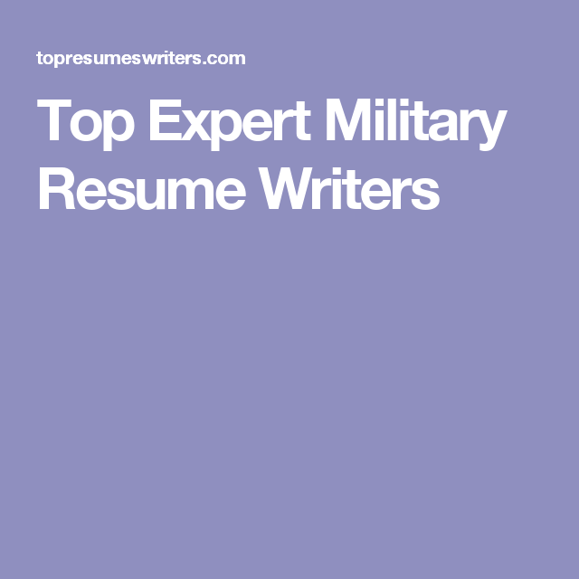 Military Resume Writers Beauteous Top Expert Military Resume Writers  Military Resume  Pinterest .