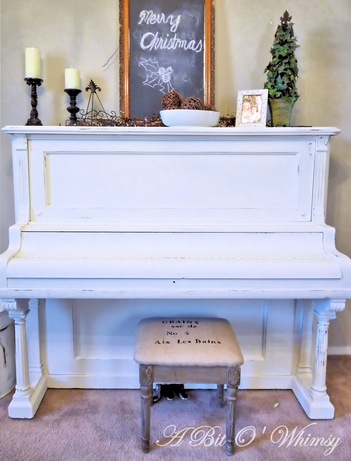 redoing furniture ideas. Cram Piano, And I Love The Bench...I Could Put A Burlap · Redoing FurnitureRefinished FurniturePainted FurnitureFurniture IdeasPainted Furniture Ideas