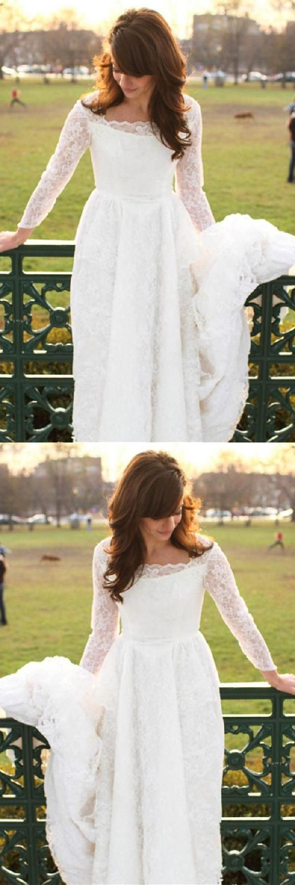 Hot sale dazzling wedding dresses with sleeves lace wedding dresses