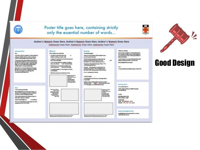 Using PowerPoint to design Academic Poster