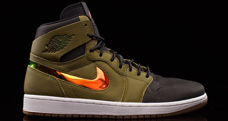 best authentic 20f8e 656fb Air Jordan 1 High Nouveau Militia Green