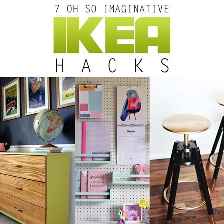 7 Oh So Imaginative IKEA HACKS {DIY Projects} The Cottage