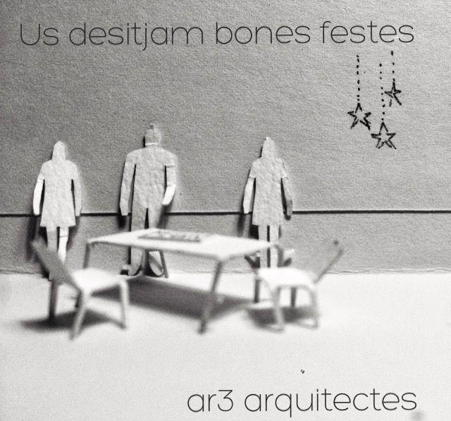 ar3arquitectes - christmas card