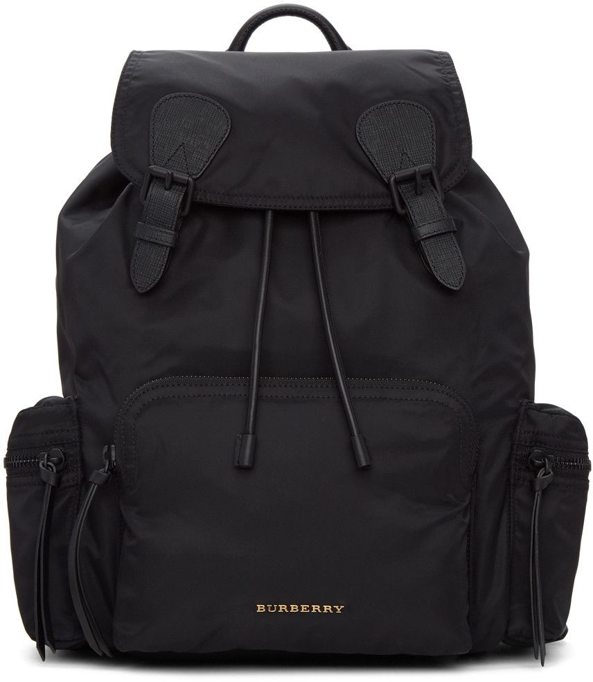 BURBERRY .  burberry  bags  leather  lining  nylon  backpacks ... 1381c97f31cd9