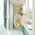 Küçük Balkon Dekorasyonu İçin Örnekler 49 #kleinerbalkon