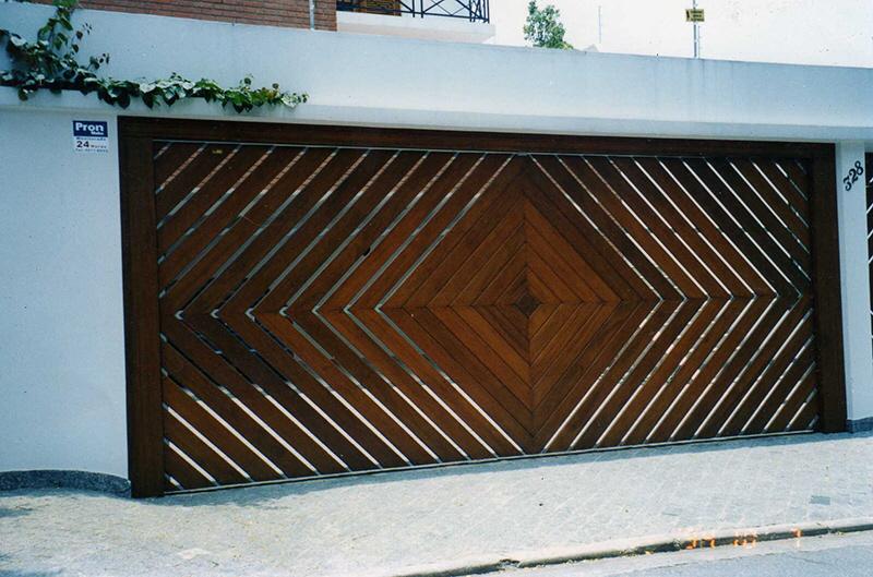 Unusual Door Designs From Brazil Part 2 Garage Doors With Style Core77 Door Gate Design Garage Door Design Gate Wall Design