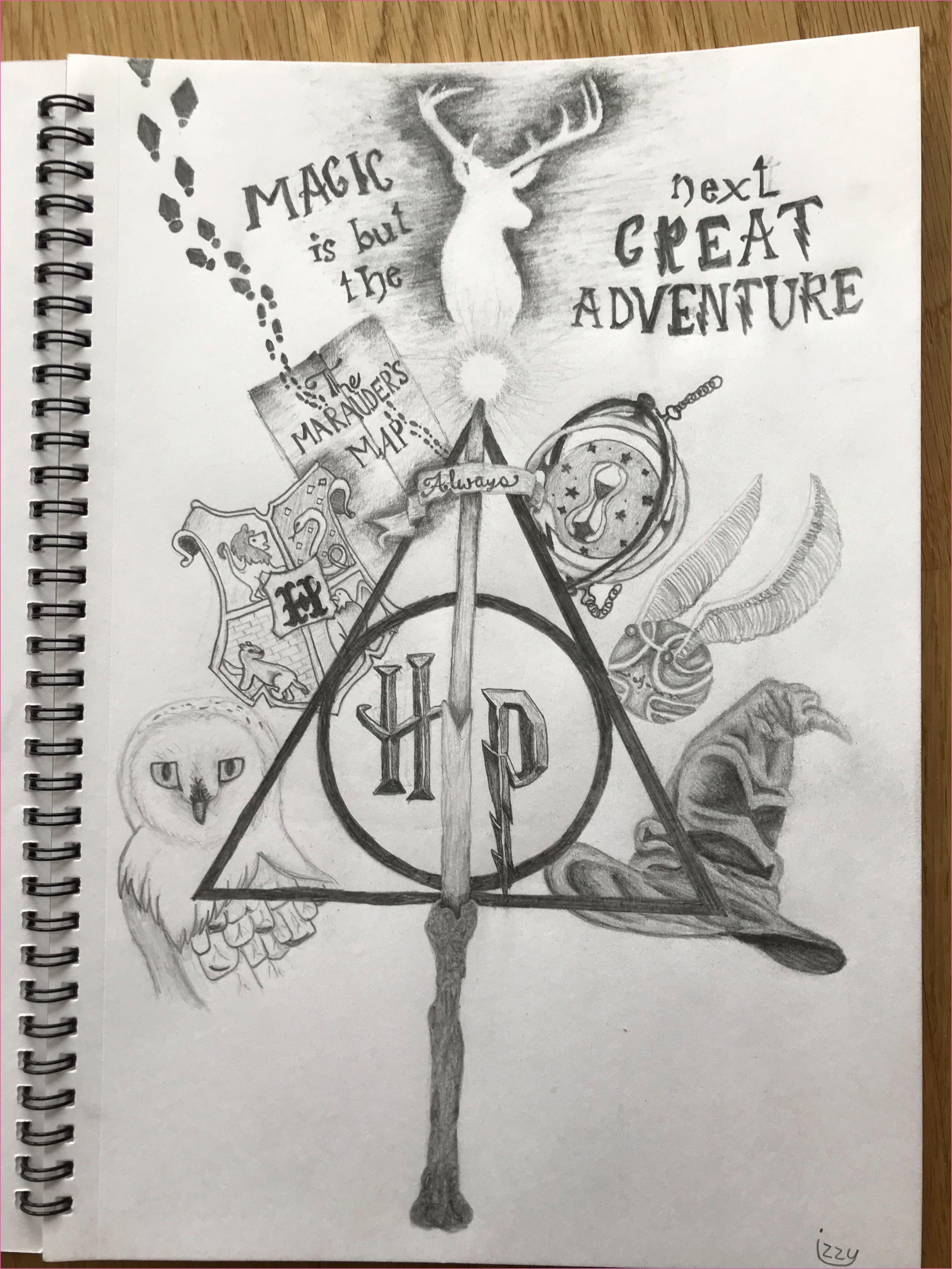 Sketche 60 Geburtstag In 2020 Harry Potter Zeichnungen Harry Potter Tattoos Harry Potter Thema