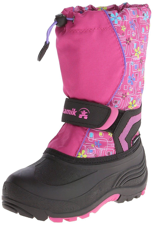 Toddler//Little Kid//Big Kid Kamik Footwear Kids Snowbank Insulated Snow Boot
