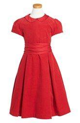 Ralph Lauren Corduroy Party Dress (Toddler Girls & Little Girls)