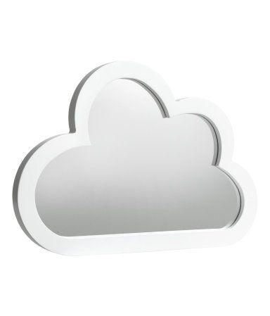 Wolkenformiger Spiegel Spiegel Kinderzimmer Wolkenformen