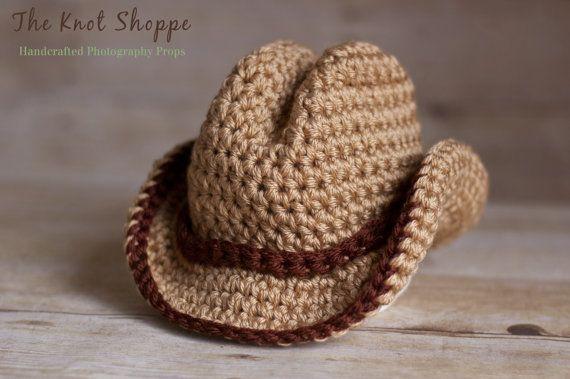 cowboy hat crochet sombrero vaquero pattern # 6