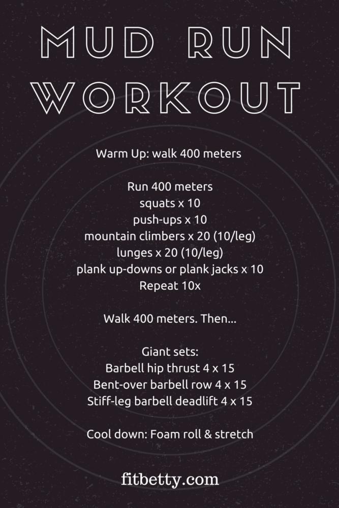 Mud Run Workout (OCR Workout)