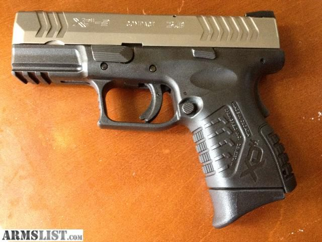 Springfield Xdm 9mm 38 Compact Bitone With The Extended Grip