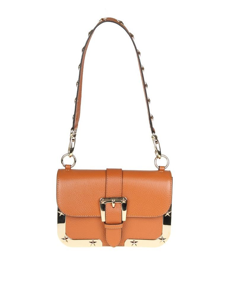 RED VALENTINO . #redvalentino #bags #shoulder bags #leather #