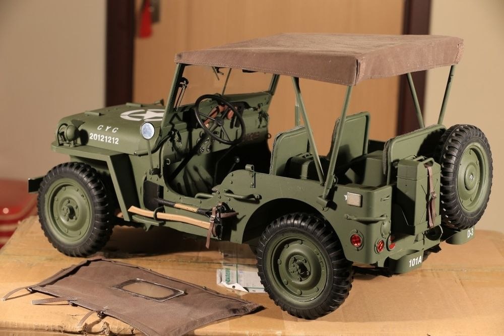 Details About 1 6 Scale Willys Jeep New Version Vehicle Car