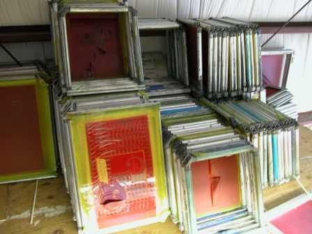 5389d1250096394 Used Screen Printing Frames Pick Up Only Dscn2318