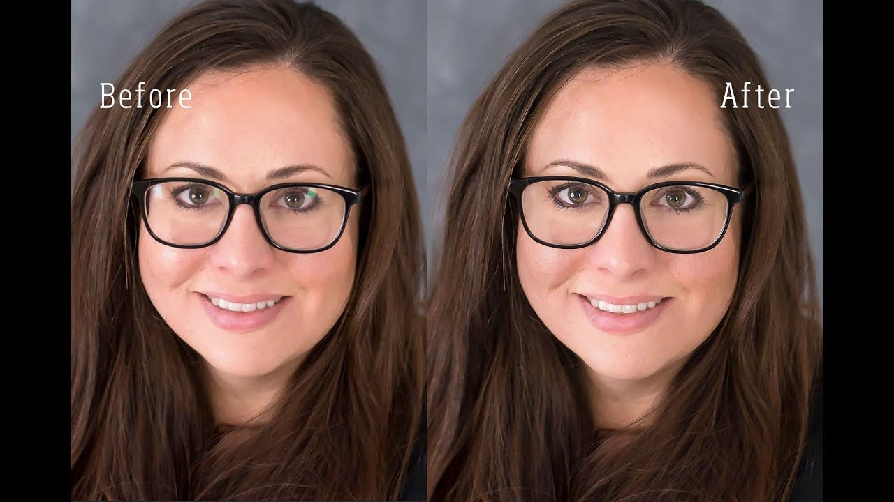 How to take glasses glare out of photos in