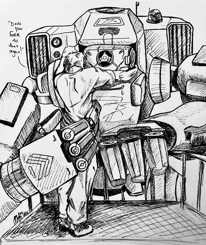 BT and Jack by MakoRedEyes (With images)   Titanfall, Cool ...