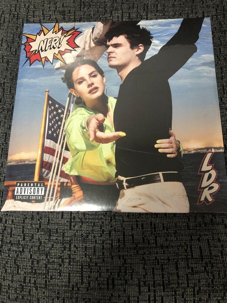 Lana Del Rey Nfr Vinyl In 2020 Lana Del Rey Vinyl Record Album The Queen Is Dead