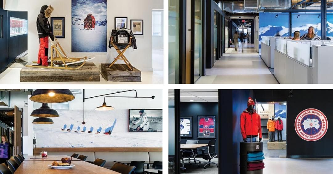 Canada Goose offices in Toronto