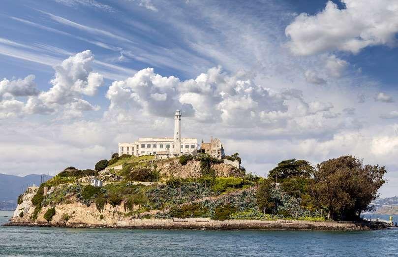 Isla y prisión de Alcatraz, San Francisco California