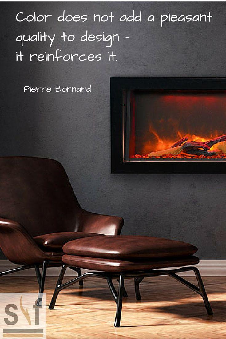 Colour does not add a pleasant quality to design -- it reinforces it. /Pierre Bonnard