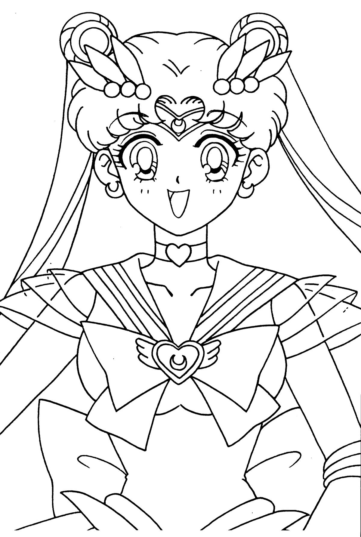 Moon018 Jpg 1200 1785 Sailor Moon Coloring Pages Sailor Moon Art Coloring Books