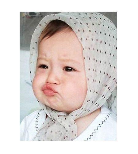 Foto Galeri Foto 10 Ekspresi Lucu Bayi Yang Menggemaskan