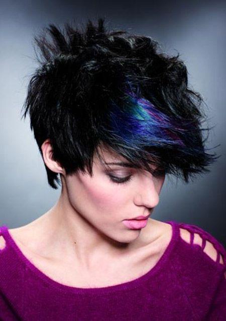 Best hair colors for short hair short haircuts short hair and best hair colors for short hair blue highlightshaircolorhairstyle solutioingenieria Gallery