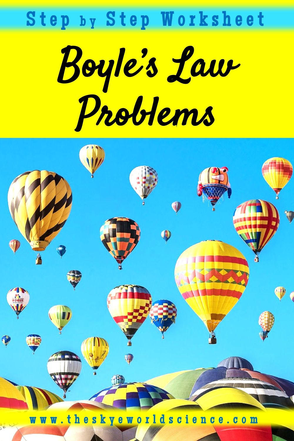 Boyle S Law Problems Gas Laws Basic Math Skills Conceptual Physics Science Resources