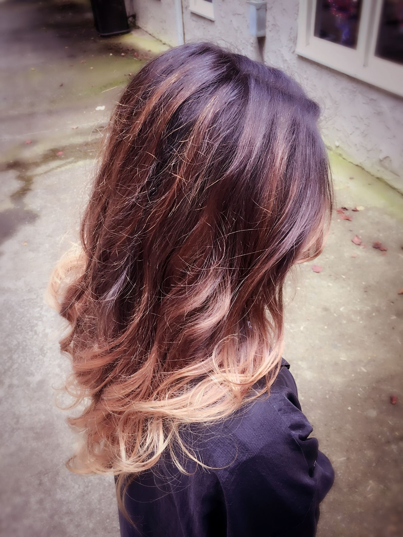 Balayage Ombr Color By Amber Mutter At Kellipaul Salon In Peachtree