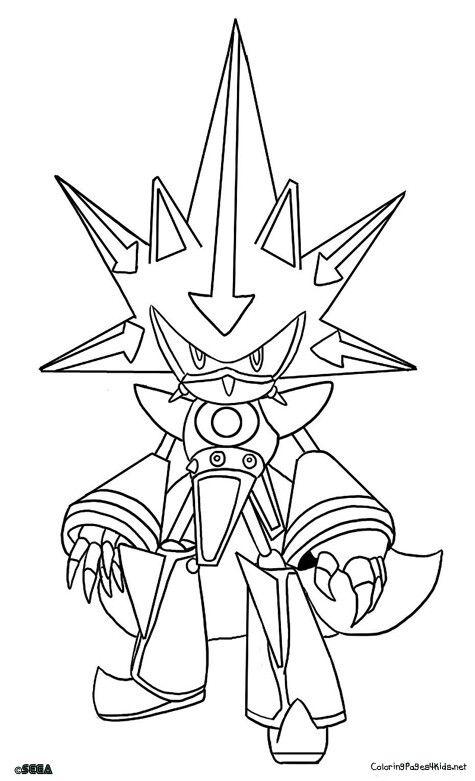 Metal Sonic Sonic Para Colorear Toy Story Para Colorear Y