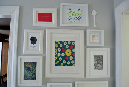 How To Make A Giant Hallway Frame Gallery | Drawers ...