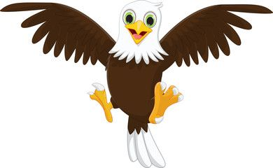 cute eagle cartoon - Buy this stock vector and explore similar ...