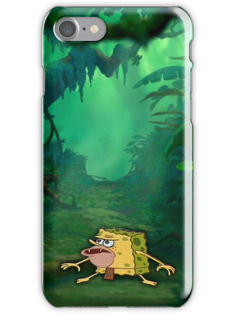 Caveman Spongebob Meme (SpongeGar) iPhone Case & Cover