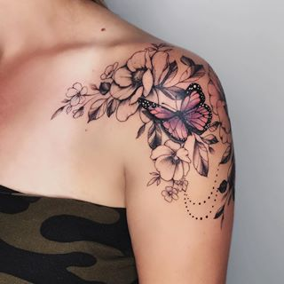 Photo of Side Arm Tattoos For Women Design ; Side Arm Tattoos For Women