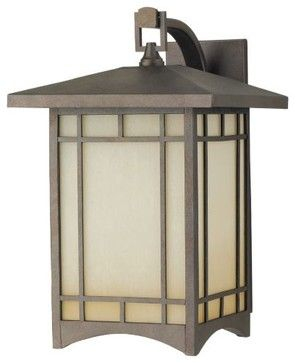 Mission Style outdoor lighting Craftsman Style Outdoor Lighting