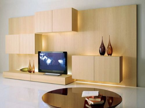 The sectional wooden storage Tosai wall unit | Pinterest | Tv walls ...