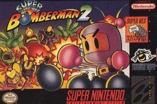 Super Bomberman 2 Snes Jogos Super Nintendo Capa Jogo Super Nintendo