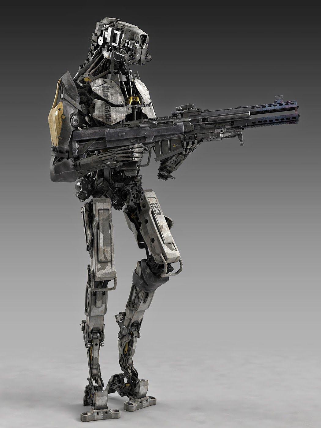 InfantryMech - by Fausto de Martini
