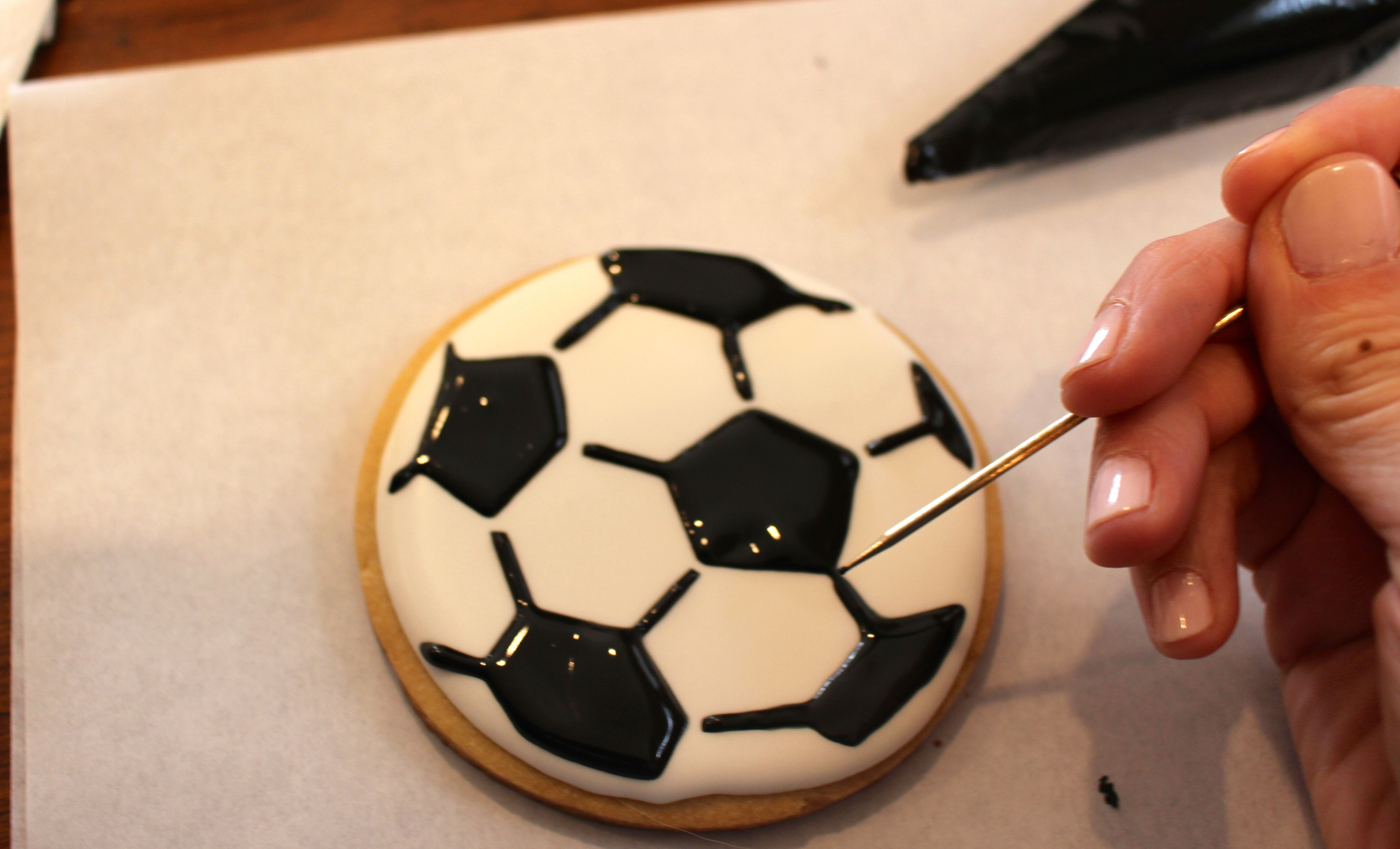 2015 Cookies Soccer Ball Favors Cookie birthday party