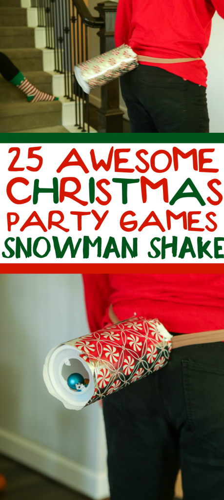 25 Hilarious Christmas Minute To Win It Games Funny