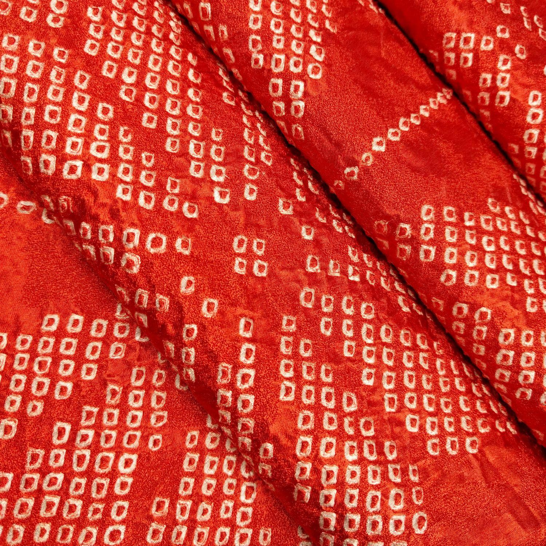 Red Orange Silk Kimono Fabric With Shibori Hemp Leaf Asanoha Pattern By The Yard By Rochestertextile On Etsy Japanese Fabric Lily Pattern Hemp Leaf