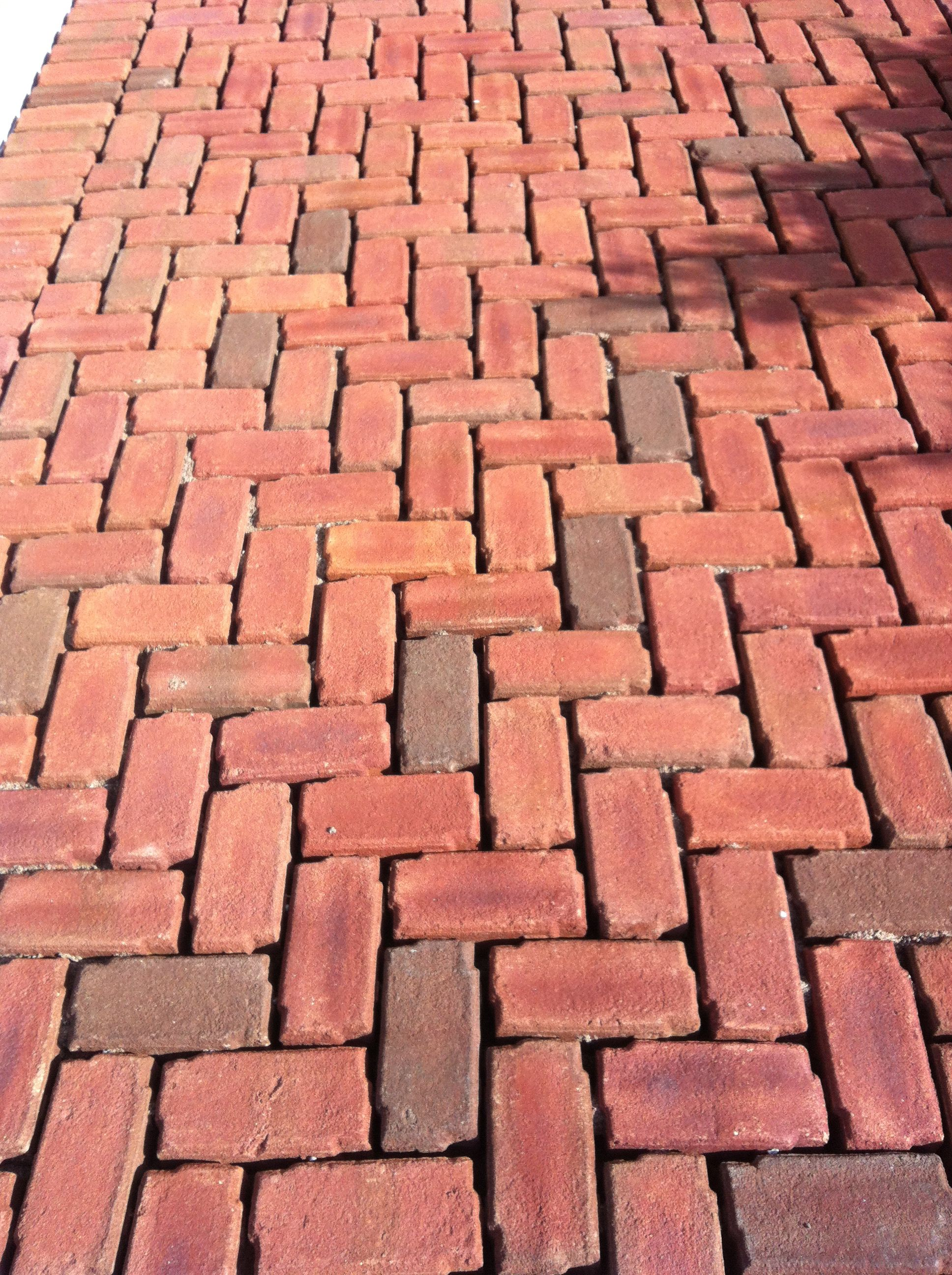 Clay Brick Pavers Belden's New Aqua Bric Permeable Paver Is A Clay Brick System That
