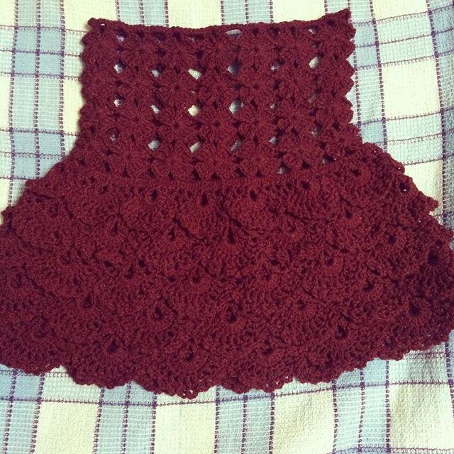 myyarnbasket #myyarnbasket #crochetforsell Crochet Baby Frock ...