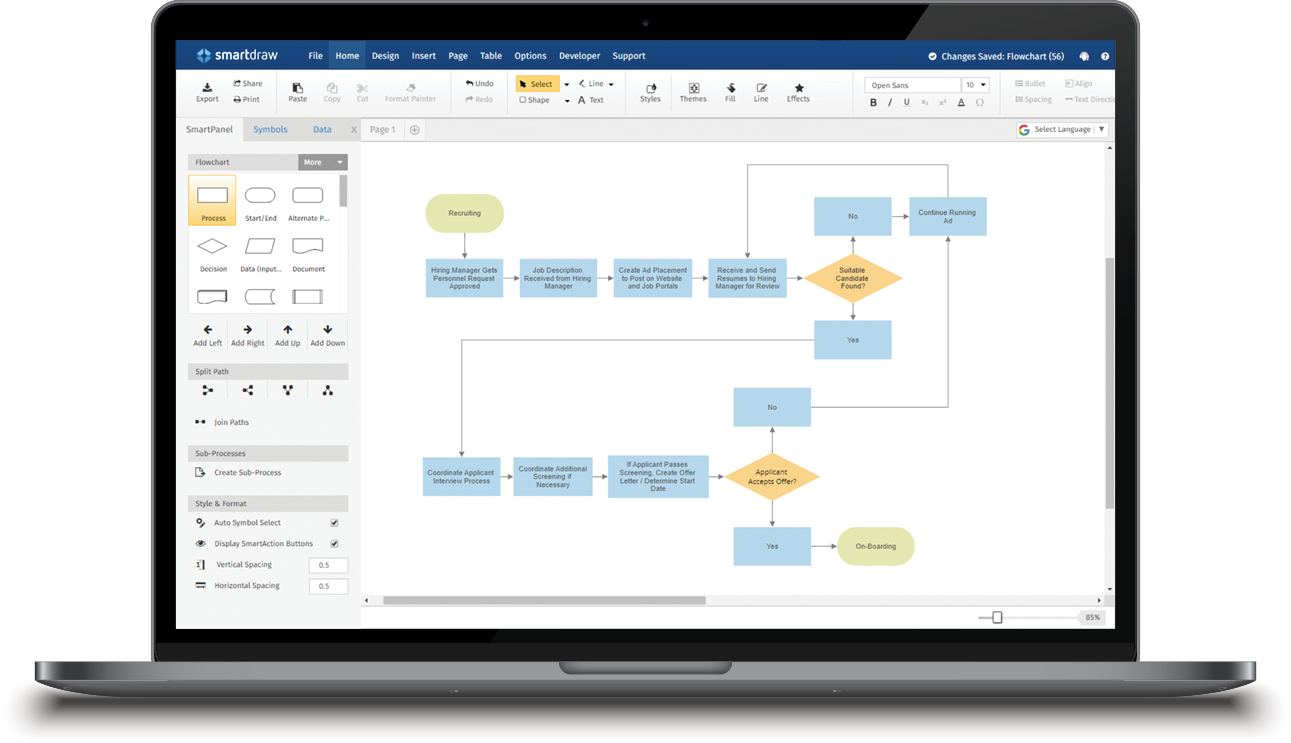 Create Flowcharts Floor Plans and Other Diagrams on Any Device